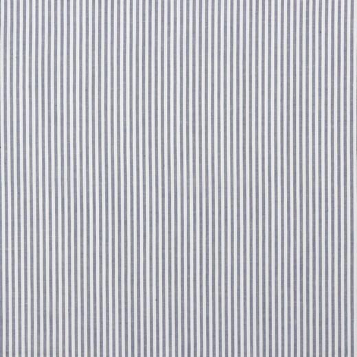 Streifen blue, Yarn Dyed, Baumwollpopeline, waschbar bei 60°