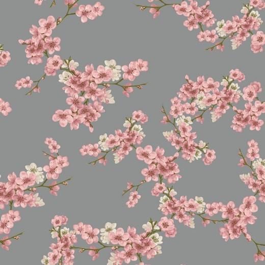 Bio-Supersoft-Sweat, Cherry Blossom, hellgrau
