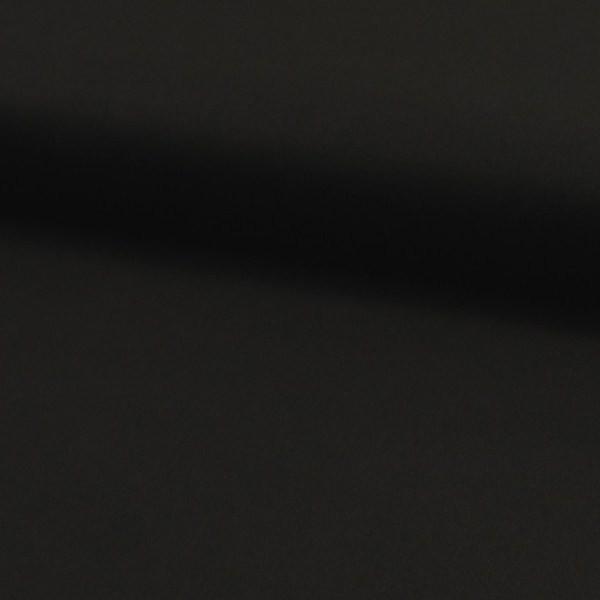 Fester Baumwollstoff/Köper, leicht elastisch, schwarz