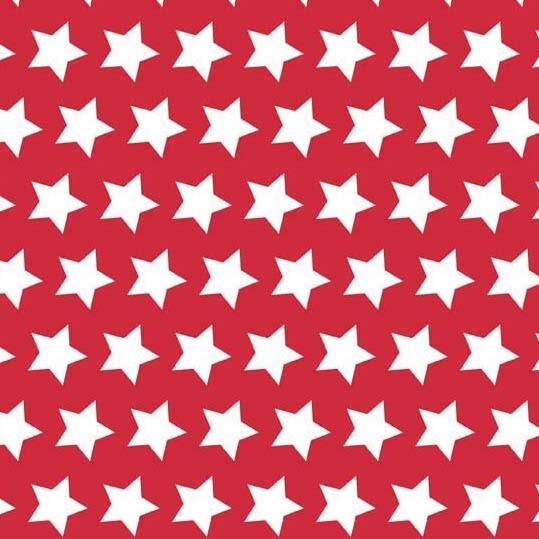 Riley Blake Basic Stars red, *Letztes Stück ca. 100 cm*