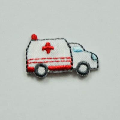 Applikation Rettungsauto, klein