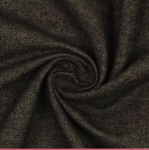 Hemdenjeans gewaschen, schwarz