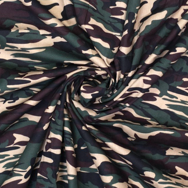 Franz, Camouflage army, Baumwollstoff