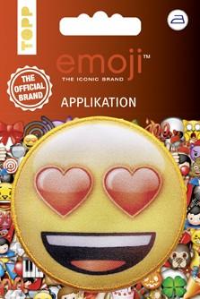Applikation Emoji - Lachen mit Herzaugen