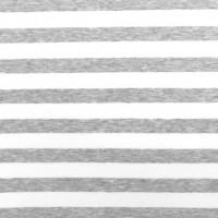 Alberto Bio-Jersey Streifen hellgrau-meliert/weiß