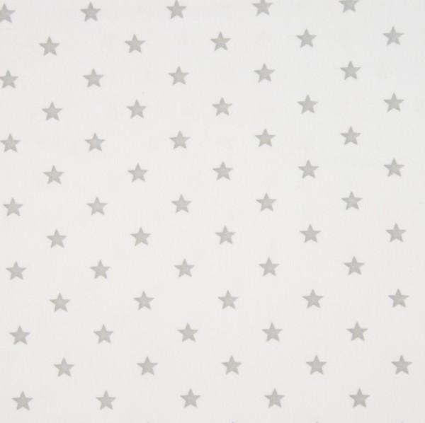 Bündchen mit Sternen, offwhite