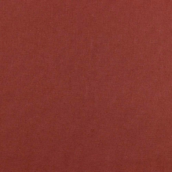 Canvas, dunkles terracotta