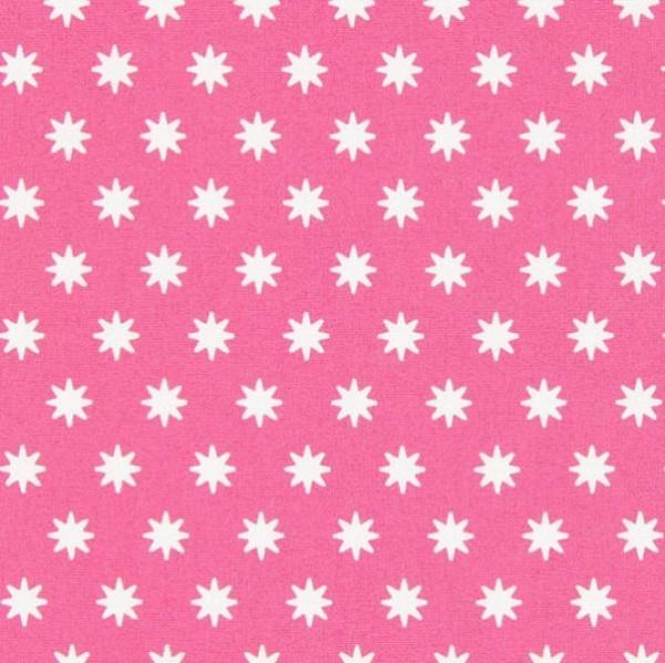 Gütermann Portofino, Sternchen pink, Popeline