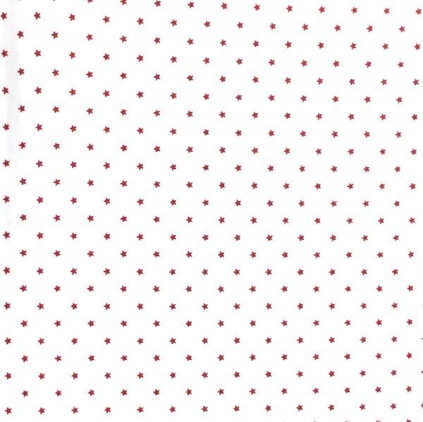 Carlotta Ministernchen rot auf weiß, Webstoff
