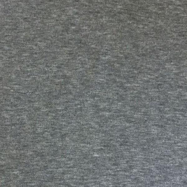 Glattes Bündchen dunkelgrau-meliert