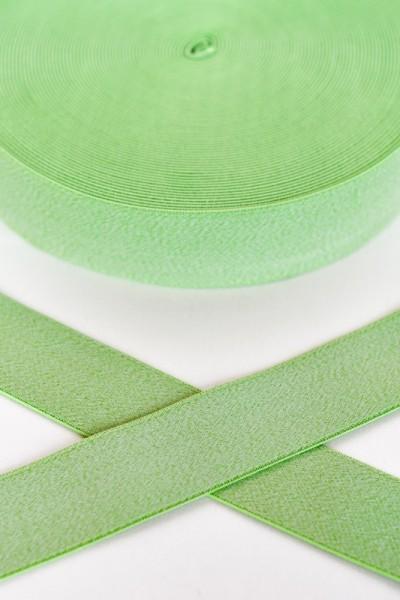 Gummiband breit, grün meliert