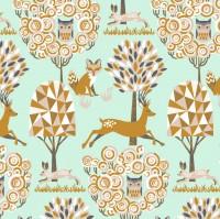 blendfabrics, Natural Wonder mint, Webstoff