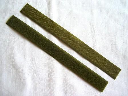 Klettverschluss, oliv