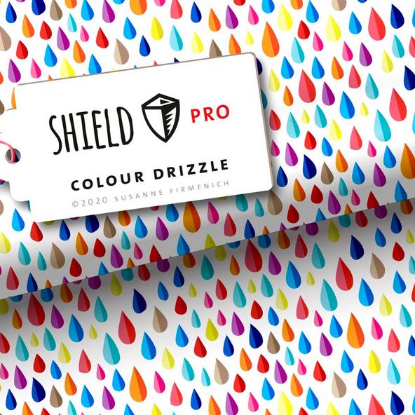 SHIELD Jersey, Colour Drizzle, Bunte Tropfen