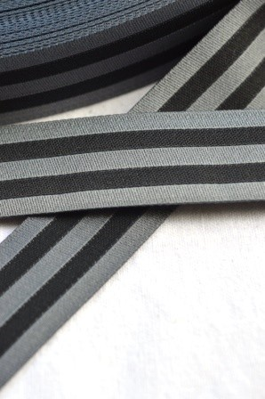 stripes black, Webband