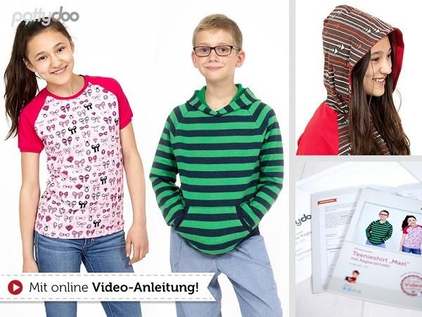 Maxi, Teenieshirt, pattydoo-Schnittmuster