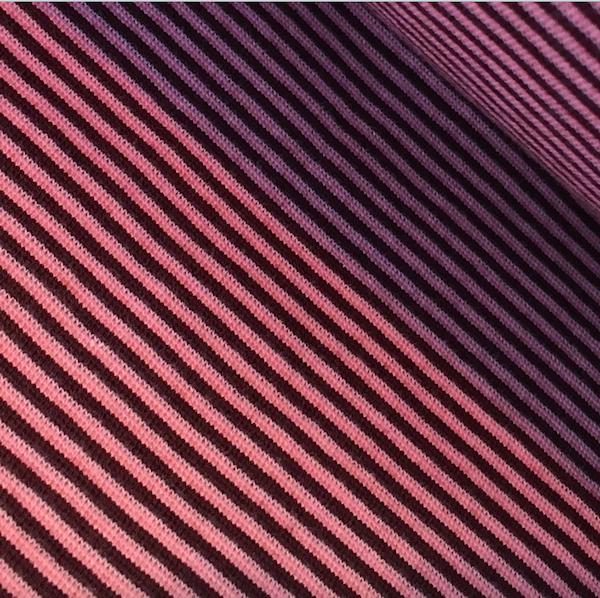 Alberto Bio-Ringelbündchen, dunkelrot/rosa