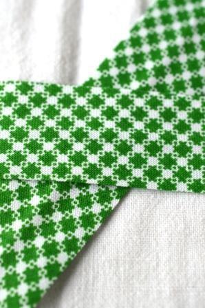 Schrägband, Karosternchen, grün