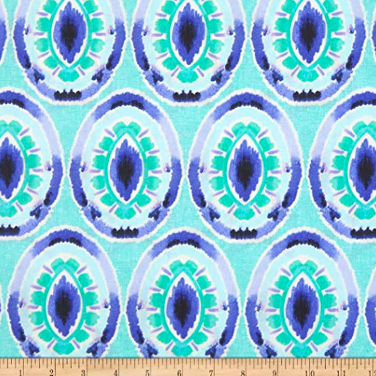 Charisma, Iris blue, Baumwollstoff