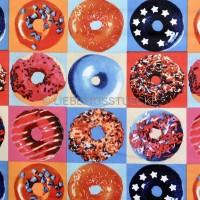 Donuts multi, Dekostoff *SALE*