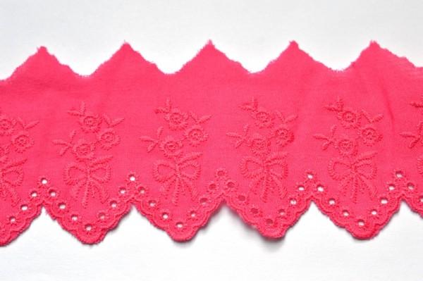Stoffspitze Kathrin, pink, 54 mm