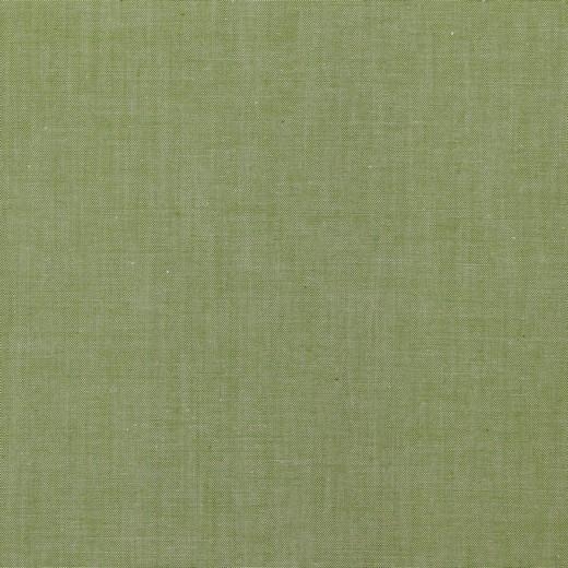 Yarn Dyed grün, Baumwollpopeline, waschbar bei 60°