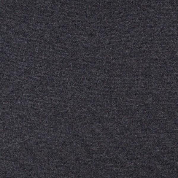 Merino-Strickstoff mit Kaschmir-Touch dunkelgrau-meliert
