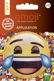 Applikation Emoji - Lachen mit Tränen