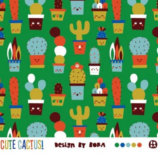 lillestoff, Cute Cactus, Bio-Jersey, *SALE*