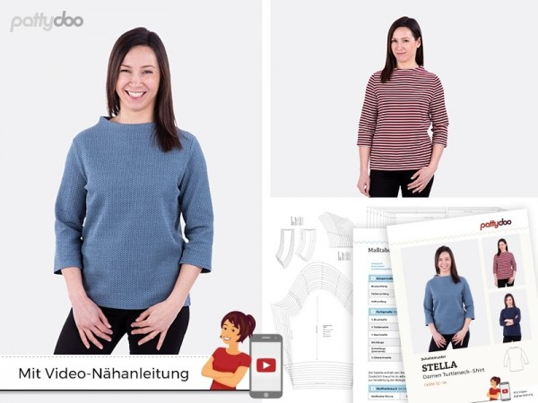 Stella Damen-Shirt, pattydoo-Schnittmuster