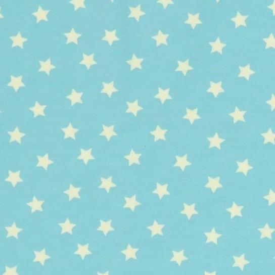 Tom, kleine Sterne helltürkis, Jersey