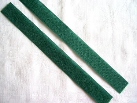 Klettverschluss, dunkelgrün