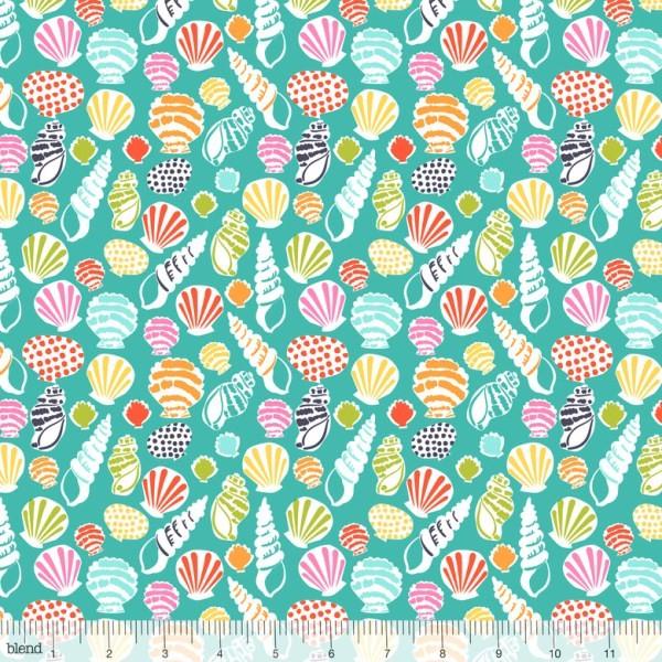 blendfabrics, Sun-sational Beachcomber Turquoise, Webstoff
