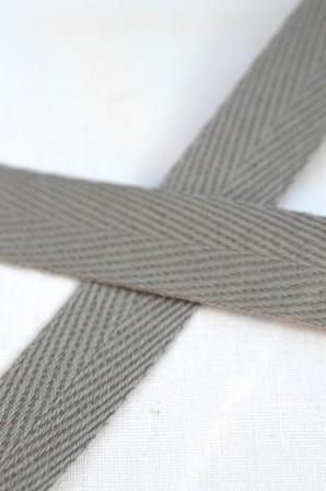 Köperband, 10 mm, hellgrau