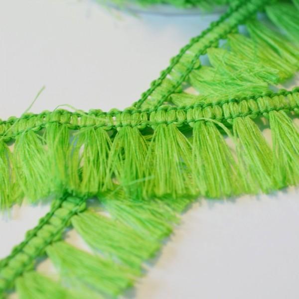 Fransenborte, grün