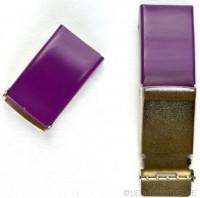 Gürtelschnalle, 2,5 cm, violett