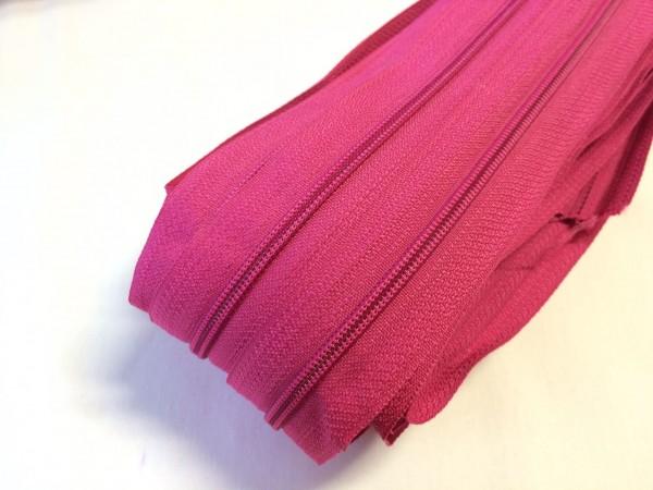 Endlosreißverschluss, pink