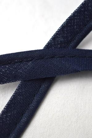 Baumwollpaspel, dunkelblau