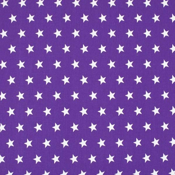 Miri Sterne lila, Webstoff