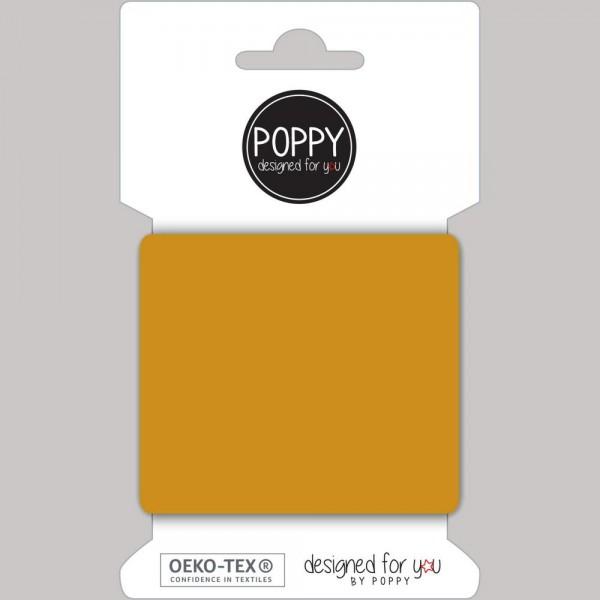 Poppy, Strickbündchen senf, 135 cm