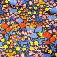 ZNOK Flower Fields Blue, Bio-Jersey