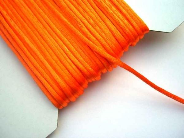 Satinschnur, orange