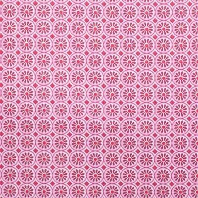 Hilco Hilde Kreise pink-rot, Popeline