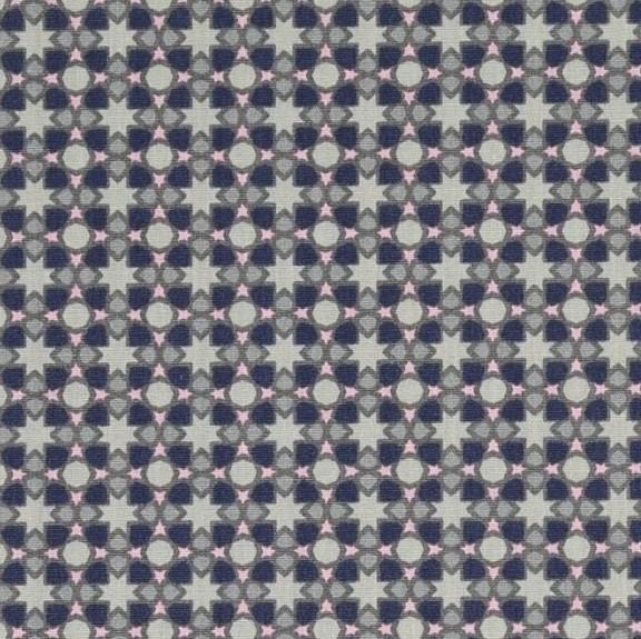 Lina kleine Sternchen auf grau, Webstoff