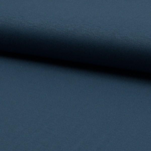 Viskosejersey dunkles jeansblau